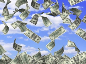 Money From The Sky