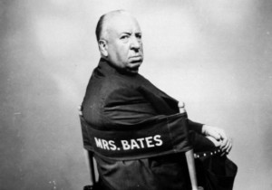 Hitchcock In Chair
